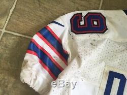Marcell Dareus Game Used Football Jersey Buffalo Bills Psa/dna Alabama Crimson