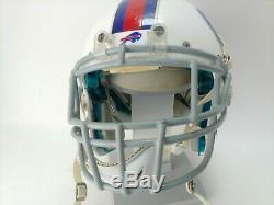 NFL Buffalo Bills TEAM ISSUED GAME USED PLAYER WORN Schutt football helmet