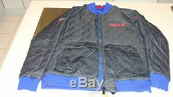 NFL Buffalo Bills X Large Reversible Full Zip Jacket Football Logo Pockets