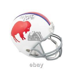 O. J. Simpson HOF Autographed Buffalo Bills Full-Size Football Helmet JSA COA