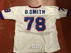 Old Bruce Smith Buffalo Bills Jersey Size 52 White Champion NFL Football 78