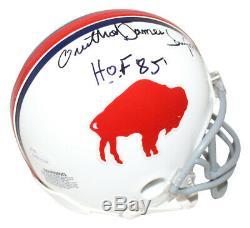 Orenthal O. J. Simpson Autographed/Signed Buffalo Bills Mini Helmet HOF JSA 26786