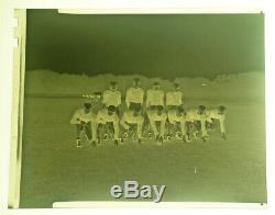 Original 1949 BUFFALO BILLS AAFC football team 4x5 inch b&w negative and photo
