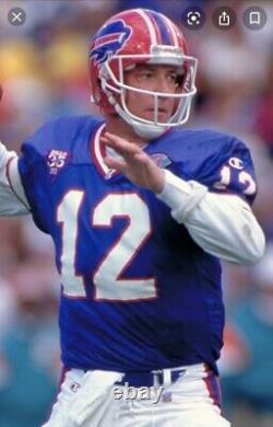 PSA Ticket Football 1986 Buffalo Bills 9/7 Jets Jim Kelly HOF Debut PSA 4