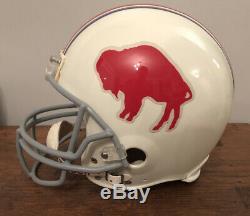 Signed Jim Kelly Buffalo Bills Football Helmet Full Size Riddell HOF JSA COA