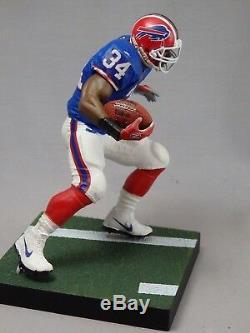 THURMAN THOMAS custom Mcfarlane figure BUFFALO BILLS Blue Home jersey helmet NFL