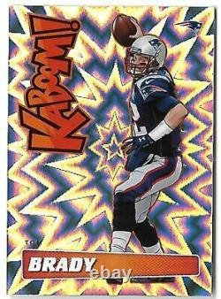 Tom Brady 2019 Panini Absolute Kaboom! Ssp Case Hit Patriots Insert Card