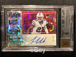 Tre'Davious White RC Rookie Auto 2017 Contenders Cracked Ice /25 BGS 9 3x 9.5