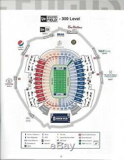 Two (2) Buffalo Bills Home Tickets vs Cincinnati Bengals 9-22-19 HOME OPENER