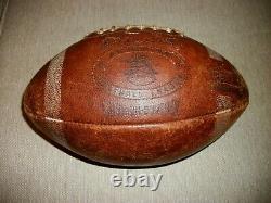 Vintage 1960's Spalding Game Used Buffalo Bills Afl Football The Rockpile Points