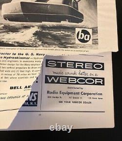 Vintage 1962 Buffalo Bills AFL Football Program Lot 4 Issues