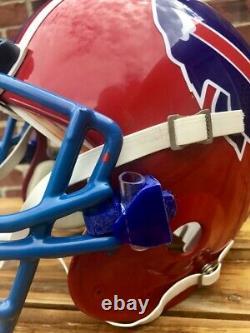 Vintage Bruce Smith Buffalo Bills Bike AiR Power Authentic Football Helmet