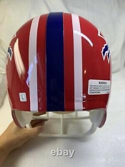 Vintage Buffalo Bills Riddell Authentic Full Size Replica Football Helmet 1995