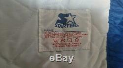 Vintage Buffalo Bills Satin Football Starter Jacket Coat Pro Line Large 90s 80s