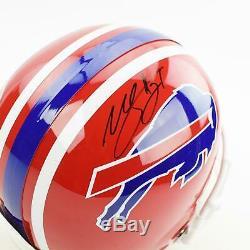 Willis McGahee Autographed Buffalo Bills Full Size Replica Helmet